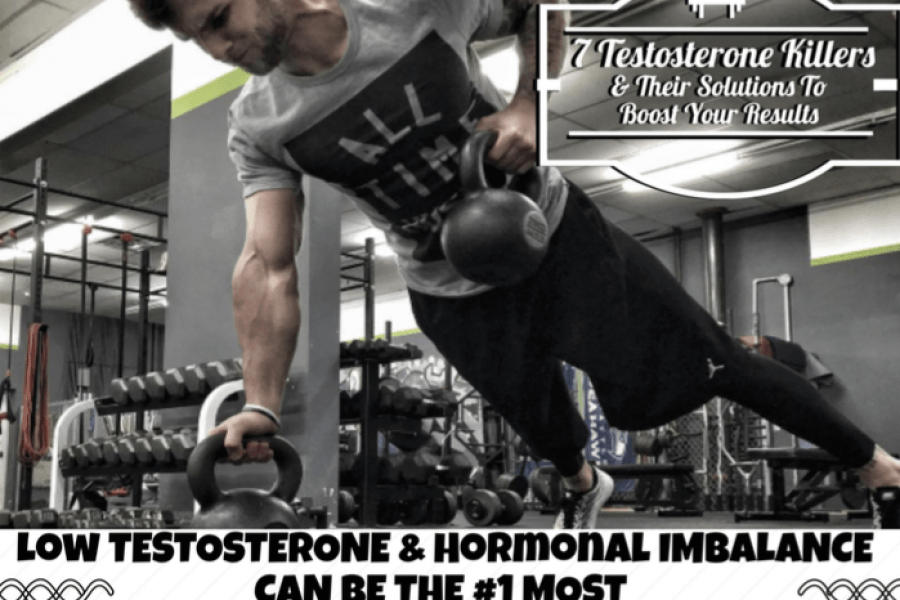 7 Things Killing Your Testosterone [AND The Solutions]