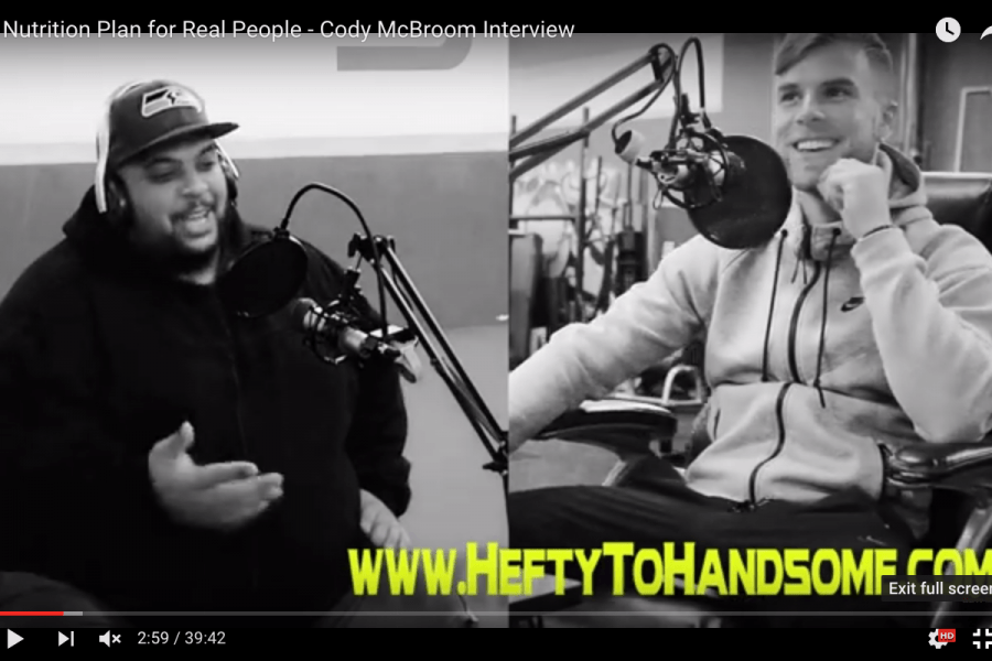 "Podcast Interview on ""Hefty To Handsome"" – A Nutrition Plan For Real People with Cody Boom Boom McBroom"